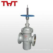 WCB manual flat-plate gate valve lockout