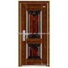 Роскошные конструкции стали безопасности входной двери двери KKD-304 от Китая производителя