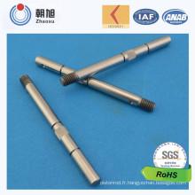 Tige d'axe de réglage de hauteur d'usine ISO avec approbation de qualité de niveau 3 de Ppap