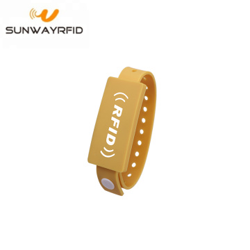 Fitness Event Smart pvc rfid pulseras 13.56mhz