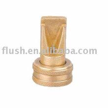 brass water spray fan hose nozzle