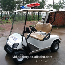 2 seats cop golf cart