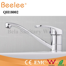 Lead Free Single Handle Long Spout Kitchen Sink Tap Mixer Faucet Qh18002
