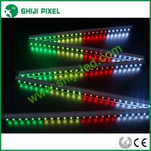 La luz linear linear llevada arduino programable de 48pcs / m LED dmx512 led llevó la luz linear