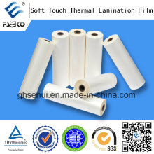 Nuevo producto de Soft-táctil película de laminación térmica para Eko marca