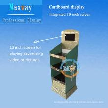 integrado de 10 polegadas LCD tela contador do cartão