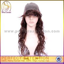 Hot Sale Short Remy Spiral Curl Swiss Full Lace Wig Italian Yaki