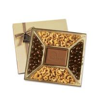 Раздел коробки шоколада / шоколадный шарик коробку с прозрачной крышкой