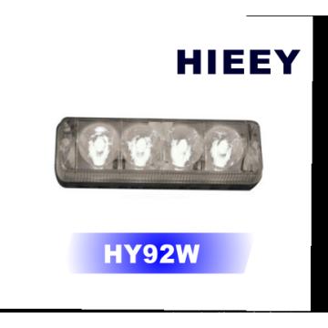 4W Multivolt LED luz diurna, lâmpada LED reboque, levou caminhão lâmpada