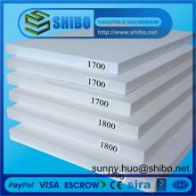 Panneau isolant en fibre de céramique, panneau de fibre, plaque de fibre