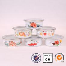 5 pcs dinnerware crystal singing bowl