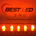 Super Brightness 2 * 3 * 4 Rectangle Orange LED