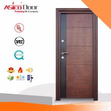 ASICO Hot Design Single Bedroom Wooden Door With BS 476 Standard