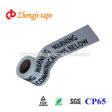High quality pe underground communications marking tape