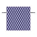 Non-woven Deep Blue Arrow Pattern Drawstring Lunch Bag