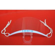 Masque anti-brouillard transparent en plastique utilisé pour la cuisson