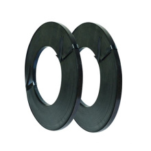 wholesale Black painted packing steel strapping band roll
