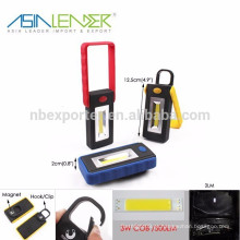 Ásia Líder produtos BT-4806 3W COB 500Lumen LED portátil super brilhante LED Work Light