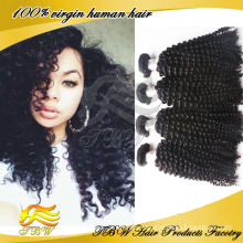 Cheap virgin mongolian kinky curly hair weave 4a,Human Kinky Curly Braiding Hair Weave