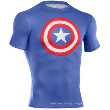 Professional Custom MMA Rash Guard Compression Shirt