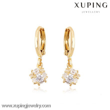 (90072)Xuping Fashion High Quality 18K Gold Plated Earring