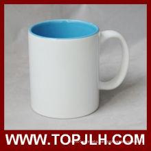 Hot Selling Blank Coated 11oz Inner Colorful Mug