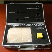 Kit de formation à la suture chirurgicale complète ISO, kit de suture