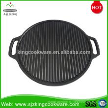 Parrilla de barbacoa de hierro fundido de carbón portátil