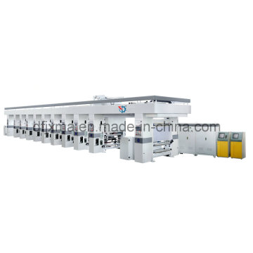 BOPP Film Soft Package Material Roll Printing Machine Rotogravure Type