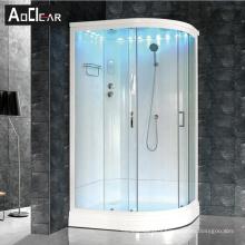 Aokeliya 90x120cm Niagara standing bath corner shower cabin stand