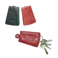 Titular de la llave de cuero genuino, keycase (ey-001), keypouch, llavero
