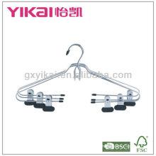 Хромированные металлические подвески с зажимами с платиновым покрытием