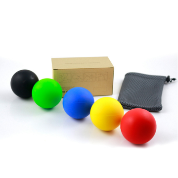 Lacrosse massage  rubber ball