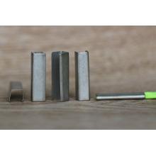 Promocionales de metal personalizadas cordones de metal cordones / clip de cable de metal para el cordón y el cinturón