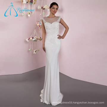 2017 Formal Classy Custom Made Cheap Simple Wedding Gown