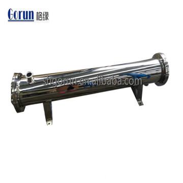 L'acier inoxydable sanitaire 304 / 316L boit l'échangeur de chaleur à tubes et tubes