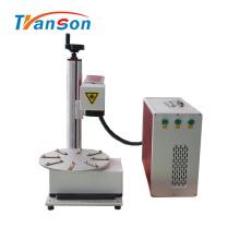 Станок для волоконной лазерной маркировки с вращающимся рабочим столом
