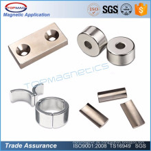 Starke industrielle Qualität ndfeb dünnen Magneten für Motor