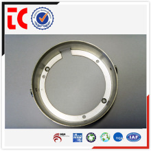 Bastidor de lámpara de aluminio cromado personalizado a medida