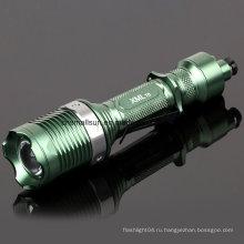6 режимов светодиодный фонарик с литий-ионной батареей