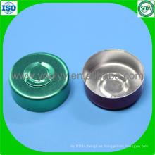 Tapa de Aluminio de Color Verde de 20mm