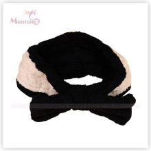 Black Coral Fleece Women Headband