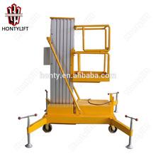 single aluminum mast vertical lift mechanism vertical lift up mechanism