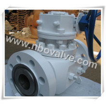 Top Entry Ball Valve Trunion Ball Valve with Worm Gear