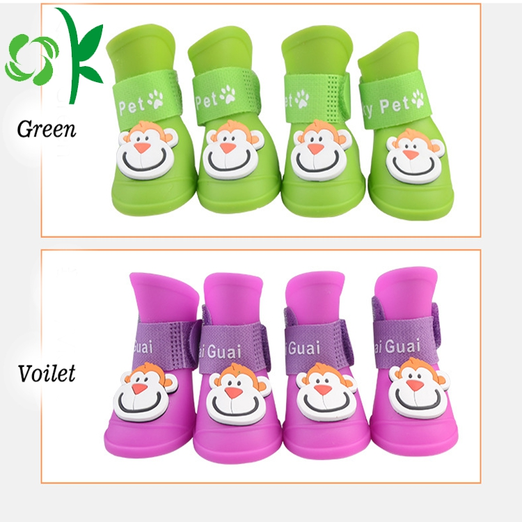 3d Silicone Pet Shoes
