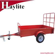 6x4 petite cargaison utilisée de boîte de cargaison enduite de poudre enduite de surface