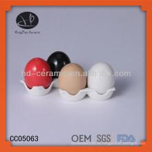 Ei Salz Shaker mit Farbe, gute Qualität Ei Schale Großhandel, Salz und Pfeffer Shaker,