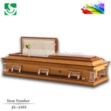 JS-A955 gros meilleures couleurs prix du cercueil de cercueil
