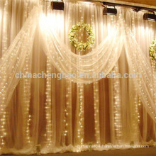 2016 latest designs waterfall led curtains for stage backdrops