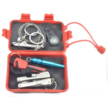 Набор для выживания в чрезвычайных ситуациях SOS Survive Tool Pack для кемпинга Пешие прогулки Охота на байкинг Альпинизм Путешествия и экстренная помощь